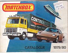 Matchbox 1979/80 Catalogue Original Catalog Toy