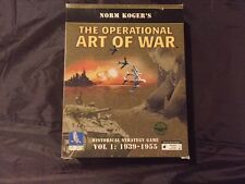 The Operational Art of War Volume 1 PC Complete Excellent Condition RARE