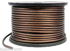8 GAUGE AWG 10mm² BROWN POWER EARTH CABLE CABLING WIRE 12 v CABLING ( 16 FEET )
