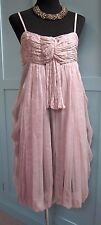 Reiss - Silk Cocktail/Party Dress in Oyster Pink size 10-12 UK - WORN ONCE