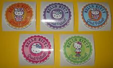 HELLO KiTTY Sanrio STiCKERS Doctor~Nurse~GREAT PATiENT Rx Collection~Round 2.5""