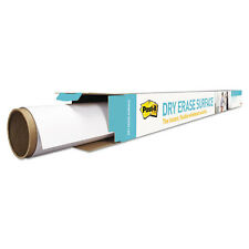 Dry Erase Film with Adhesive Backing, 48 x 36, White