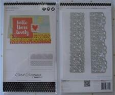 Decorative Dies by Kaisercraft ~ Lace Borders ~ 2 pack Scrapbooking Card Making
