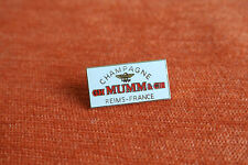 18540 PIN'S PINS BOISSON DRINK VIN WINE ALCOOL CHAMPAGNE MUMM REIMS FRANCE