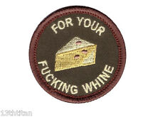 Velcro patch Boy Scout For you F-cking Whine Funny Morale tactical