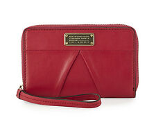 NWT Marc Jacobs Marchive Mildred Raspberries Leather Tech Phone Wristlet Wallet
