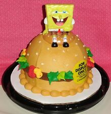 Sponge Bob Square Pants, Mini Cake Topper,Plastic, DecoPac, Yellow,Decoration