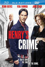 HENRY'S CRIME/Keanu Reeves, James Caan/NEW BLU-RAY/BUY ANY 4 ITEMS SHIP FREE