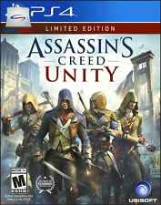 Assassin's Creed Unity Sony PlayStation 4 Ps4 Games Limited Edition Unique Gift