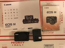 Canon EOS M 18.0 MP Digital Camera - Black (Body Only)