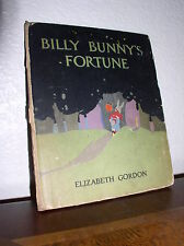 Billy Bunny's Fortune by Elizabeth Gordon  Illust M. Enright (HC,29'th Edition)