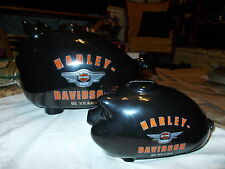 Harley Davidson Piggy Bank 95th Anniversary large and Small Set!