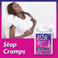 P28 ULTRA FAST PERIOD PAIN RELIEF TABLETS PILLS STOP MENSTRUAL PAIN PMT STRONG