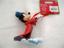 RARE 2013 DISNEY STORE FANTASIA MICKEY SORCERER ON WATER - DATED NEW WITH TAGS