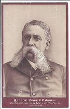 N.Y. State Politics, Images on Cards, of Gen. Edward F. Jones, Lt. Gov, 1886-8