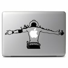 One Piece ACE Vinyl Decal Sticker for Macbook Air Pro 13 15 17 Laptop Car Window