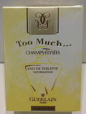 GUERLAIN CHAMPS-ELYSEES TOO MUCH EDT VAPO - 50 ml/1.7fl.oz VINTAGE RARE perfume