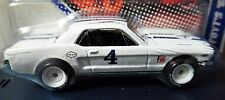 HOT WHEELS A.J. FOYT'S 65 1965 FORD MUSTANG WHITE VINTAGE RACING CAR COLLECTIBLE