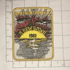John L Sabin Chaper #29 Patch - A New Dawn 1982 - vintage