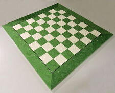 Extra Large Green And White Chess Board With Coordinates, Made In Spain
