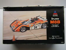 Accurate Miniatures 1:24 Scale McLaren M8B 1971 Can Am Model Kit - New Adamowicz