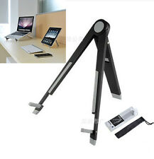 Blcak Aluminum Foldable Holder Stand Mount For iPad 2/3/4 Air Mini Tablet PC
