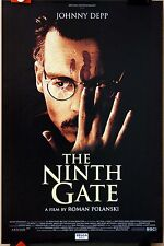 Johnny Depp : Roman Polanski : The Ninth Gate : POSTER