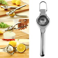 Kitchen Bar Stainless Steel Lemon Orange Lime Squeezer Juicer Hand Press Tool HA