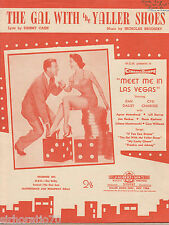 DAN DAILEY The Gal With The Yaller Shoes SHEET MUSIC Australia