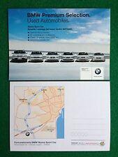 5993 Advertising Pubblicita' Cartolina Card 15x10 cm  BMW SPORT CAR CATANIA AUTO