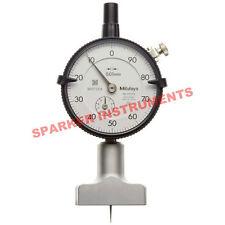 Brand New Mitutoyo 7210 Dial Depth Gauge 0-10*0.01mm