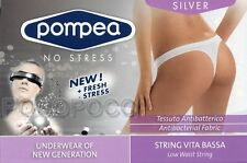 STRING LOW WAIST WOMAN MICROFIBRE POMPEA