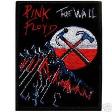 Pink Floyd The Wall Punk Rock Appliques Embroidered Iron on Patch