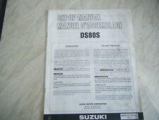 SUZUKI DS80S GENUINE SET UP MANUAL