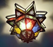 Lustre Marocain fert forgé lampe lanterne plafonnier applique luminaire orient 9