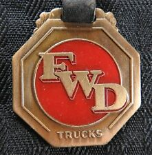 c.1920 FOUR WHEEL DRIVE AUTO COMPANY CLINTONVILLE WI KITCHENER ONTARIO WATCH FOB