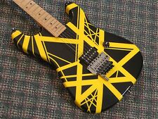 Charvel USA EVH Art Series Guitar! RARE Black & Yellow! Eddie Van Halen! w/OHSC