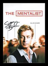 SIMON BAKER AUTOGRAPHED SIGNED & FRAMED PP POSTER PHOTO