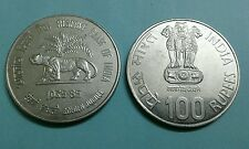 100 rs 1985 RBI UNC coin