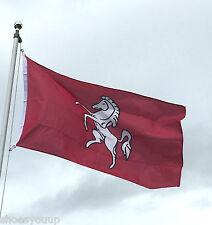 KENT 5ftx 3ft KENT COUNTY INVICTA FLAG