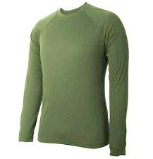 GENTS BASE LAYER T-SHIRT Mens olive large cold weather 4 season technical top