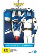 Voltron Vehicle Force - New World (DVD, 2013, 2-Disc Set) New  Region 4