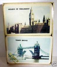 Bridge Playing Cards Tower Bridge and Parliament Cerex Gifts of London 2 Decks