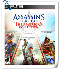 【3 IN 1】 PS3 PlayStation ASSASSIN'S CREED THE AMERICAS COLLECTION Action Ubisoft