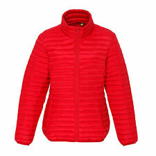 Womens Ladies Down Feel Puffer Quilted Padded Bubble Coat Jacket X –2XL 6 Colors