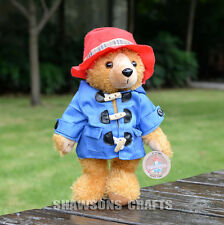 "MOVIE PADDINGTON BEAR PLUSH STUFFED TOYS 12"" SOFT DOLL"