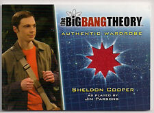 Big Bang Theory Season 5 Costume Card M34 Sheldon Cooper