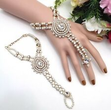Indian Jewellery Asian Bridal Party Ethnic Wear Bollywood Bracelet Panja