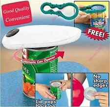 One Touch Automatic Can Jar Opener Tin Open Tool Cordless Battery Operated Unico