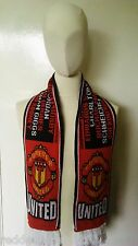 """Manchester United """"United Legends"""" Football Scarf"""